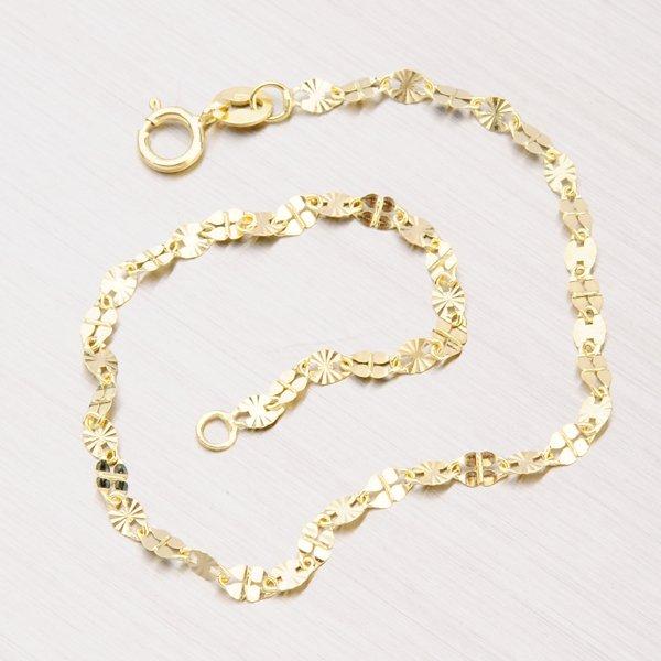 Gravírovaný zlatý náramek 44-1572