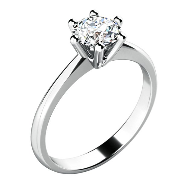 Zásnubní prsten se zirkonem ZP-10720