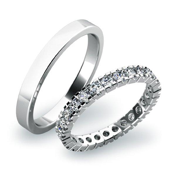 SP-61023 Snubní prsteny ze zlata SP-61023B