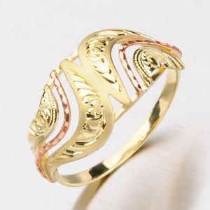 Zlatý dámský prsten 51P-462