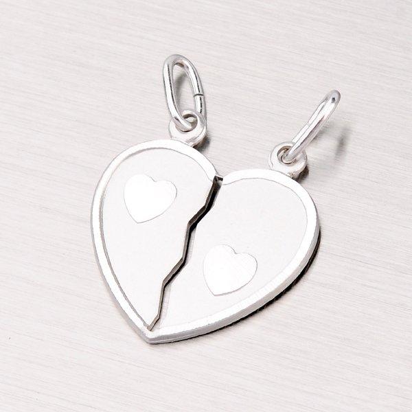 Stříbrný přívěsek pro zamilovaný pár M5500E