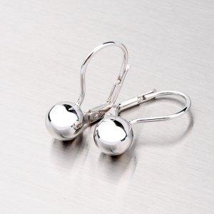 Náušnice ze stříbra 8 mm YNG2089
