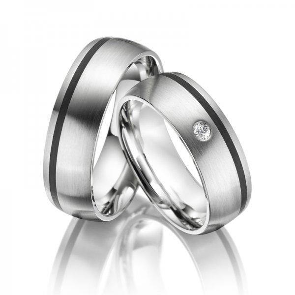 SP-ES-05 Ocelové snubní prsteny SP-ES-05