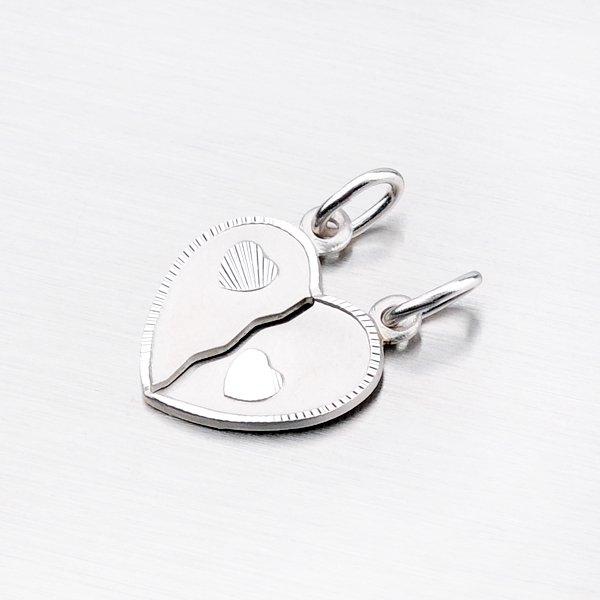 Stříbrný přívěsek pro zamilovaný pár M5503E