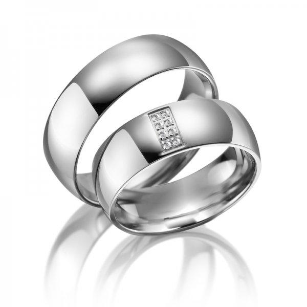 SP-TI-06 Titanové snubní prsteny SP-TI-06