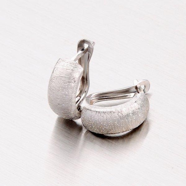 Náušnice ze stříbra CSK-313-OKS