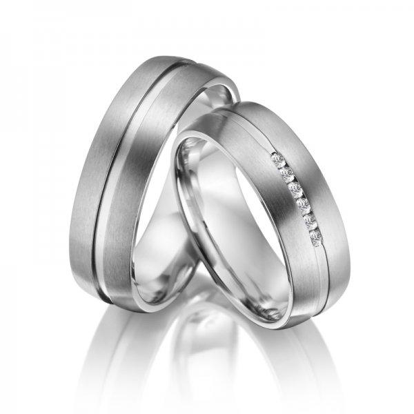 Titanové snubní prsteny SP-TI-008