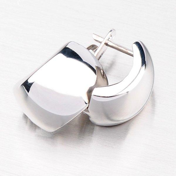 Stříbrné náušnice CSK-053-OKS