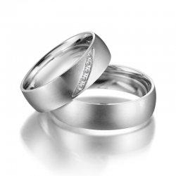 SP-ES-04 Ocelové snubní prsteny SP-ES-04