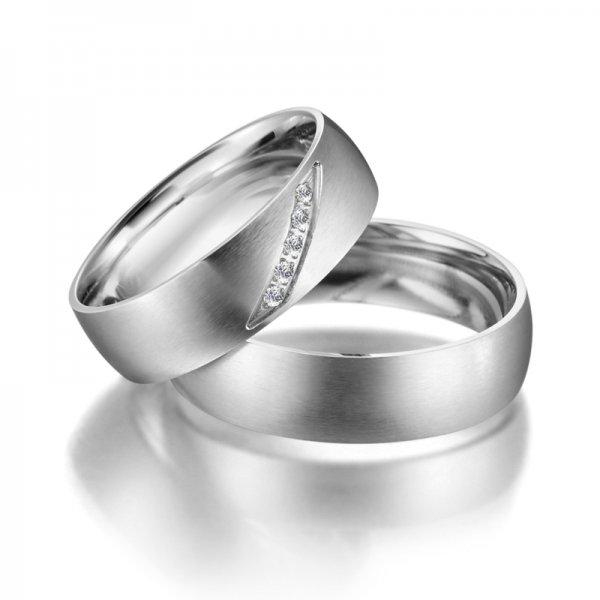 Ocelové snubní prsteny SP-ES-04