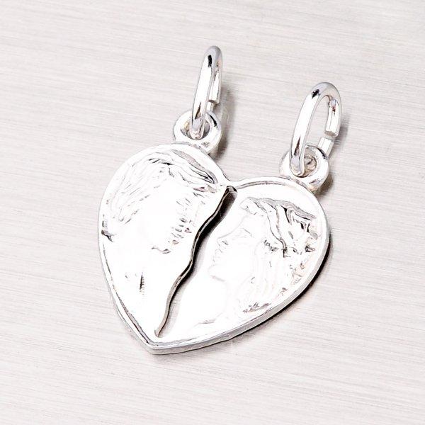 Stříbrný přívěsek pro zamilovaný pár M5503F