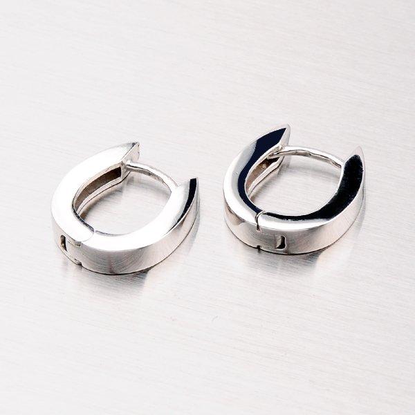 Kruhy ze stříbra OKP-065P-OKS