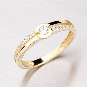 Zlatý dámský prsten GZ2543