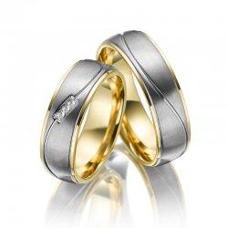 SP-TI-05 Titanové snubní prsteny SP-TI-05