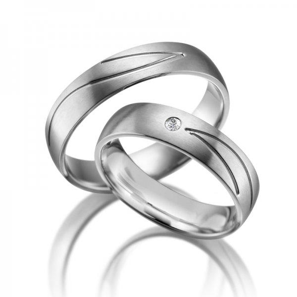Titanové snubní prsteny SP-TI-004