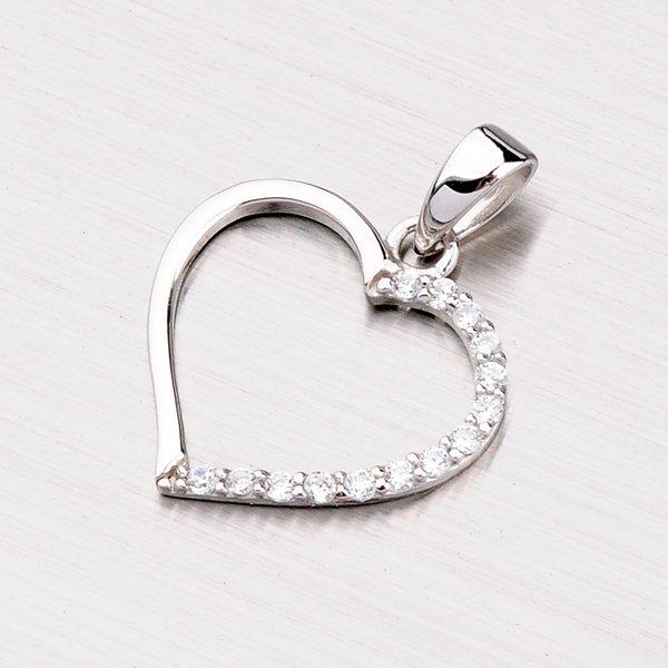 Stříbrné srdce PXX01160136