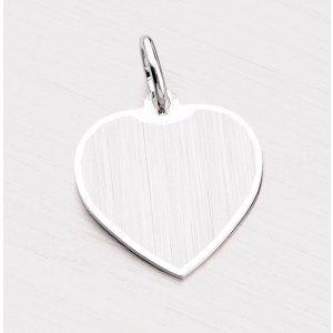 Přívěsek ze stříbra - srdce LC-0003-TPZG