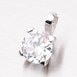 Stříbrný přívěsek se zirkonem YNG3048