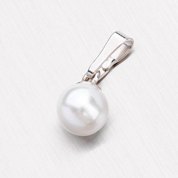 Stříbrný přívěsek s perlou YNG3040
