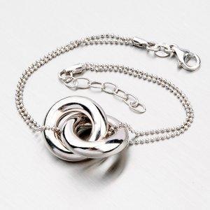 Dámský stříbrný náramek YNG4042