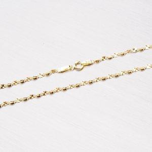 Zlatý řetízek s gravírováním 45-1058
