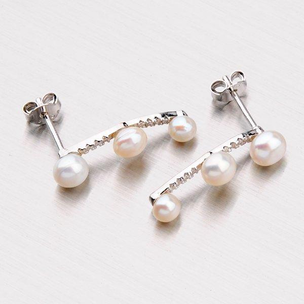 Náušnice s perlami EXX02150249