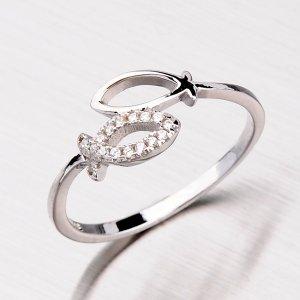 Stříbrný prsten se zirkony RXD04140203