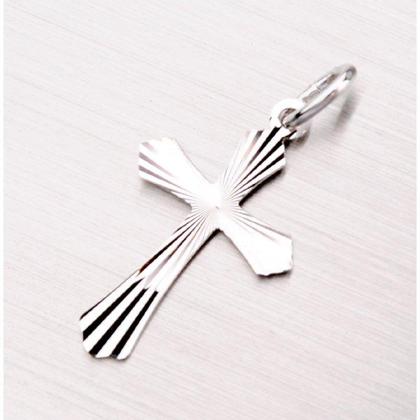 Stříbrný kříž PU-0001-TPZG