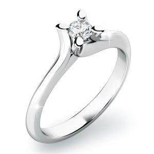 Zásnubní prsten s diamanty ZP-10806D