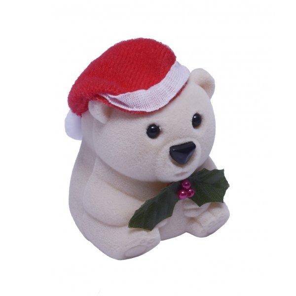 Krabička na šperky - vánoční medvídek FU-207/A20