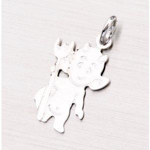 Přívěsek ze stříbra - čertík NEB-001-TPZG
