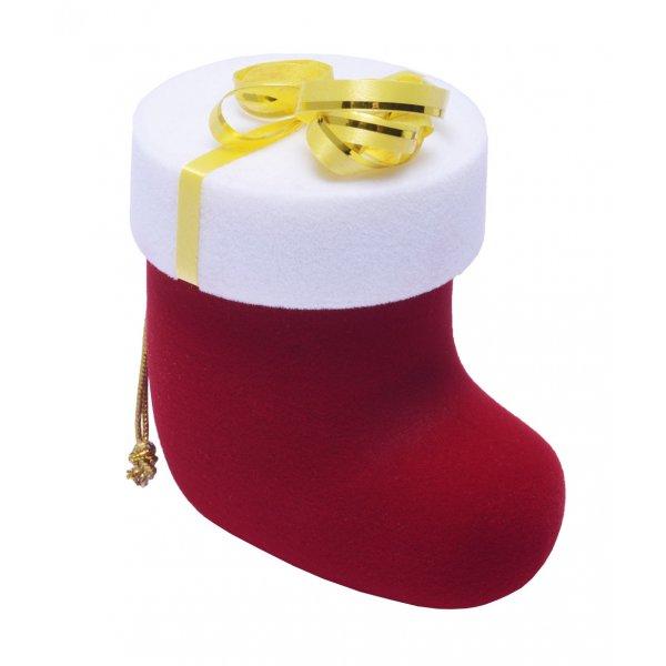 Krabička na šperky vánoční bota FU-208