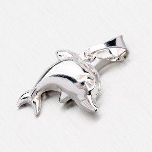 Stříbrný přívěsek - delfín YNG3058