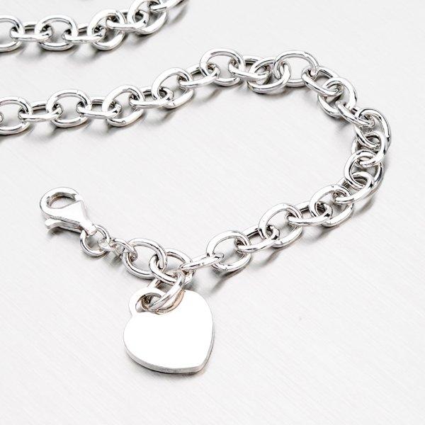 Stříbrný náhrdelník se srdíčkem YNG5021