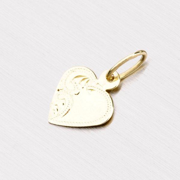 692be9bc9 Zlatý přívěsek - srdce 322-1024 : Goldex.cz