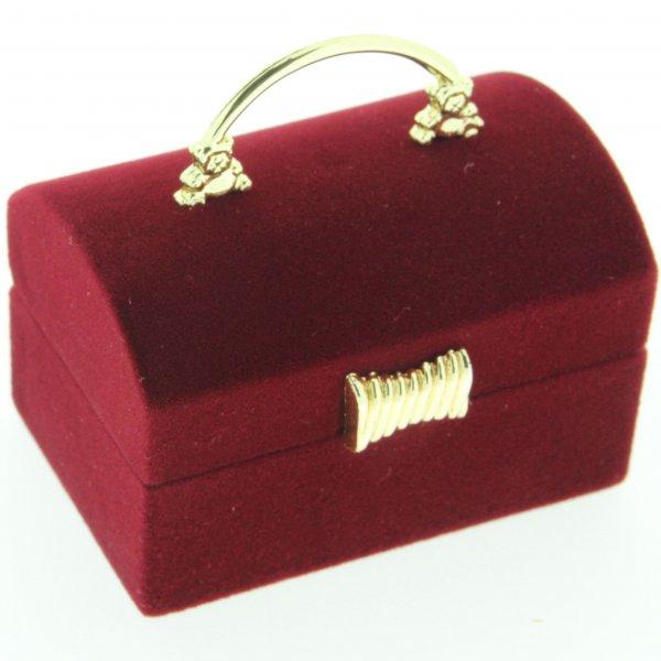 Krabička na šperky ve tvaru kabelky FU-98/A10