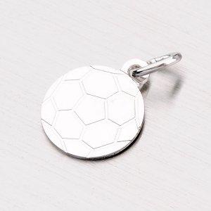 Stříbrný přívěsek - fotbalový míč NNA-010-TPZG