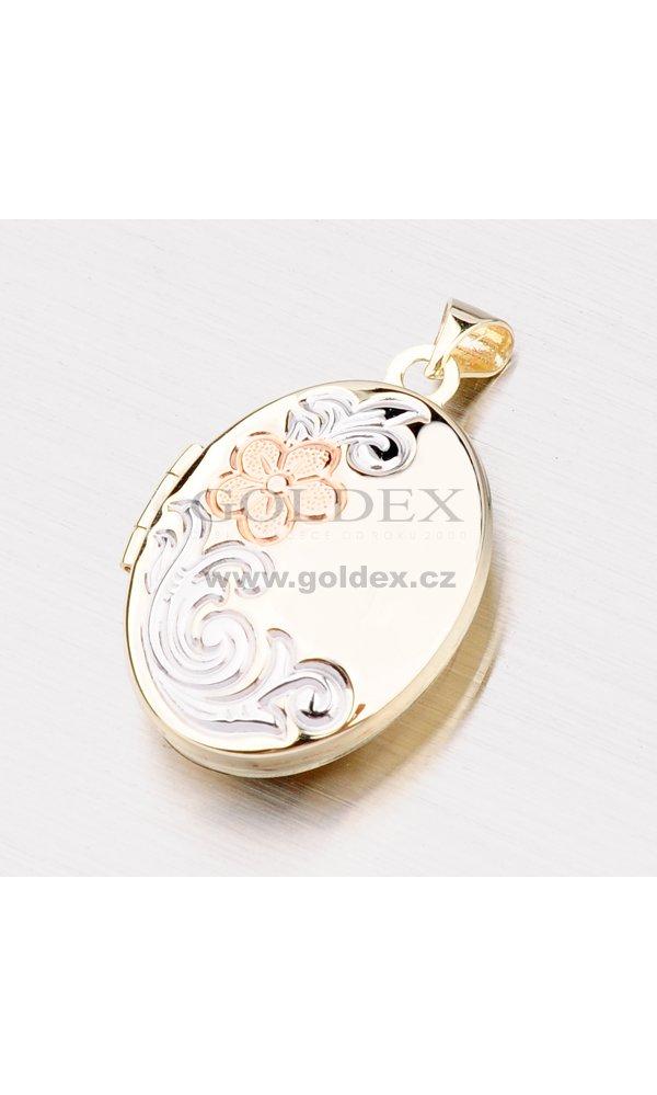 Zlatý přívěsek - medailon na fotku 192-0338   Goldex.cz bfc8fc6df8b