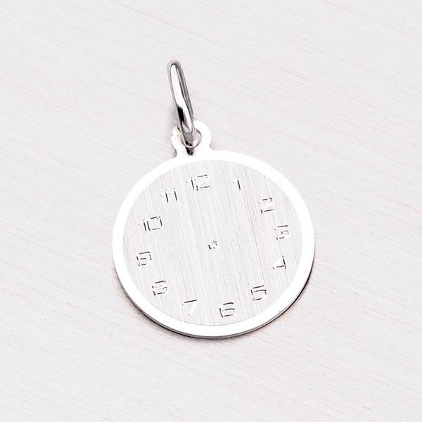 Stříbrný přívěsek křtící hodiny FOH-029-TPZG