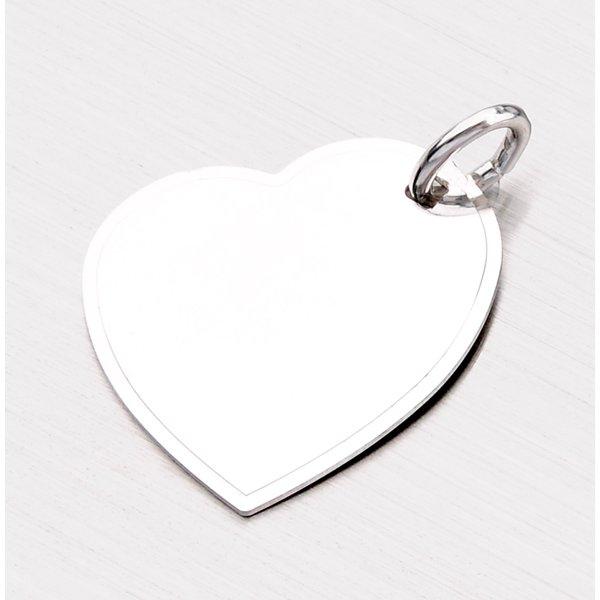 Přívěsek ze stříbra - srdce GAB-009-TPZG