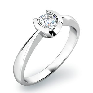 Zásnubní prsten s diamantem ZP-10809D