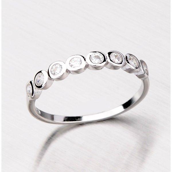 Prsten se zirkony ze stříbra RXC18150025