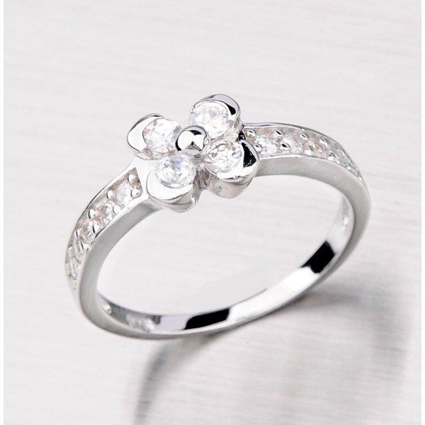 Stříbrný prsten se čtyřlístkem RXA09160009