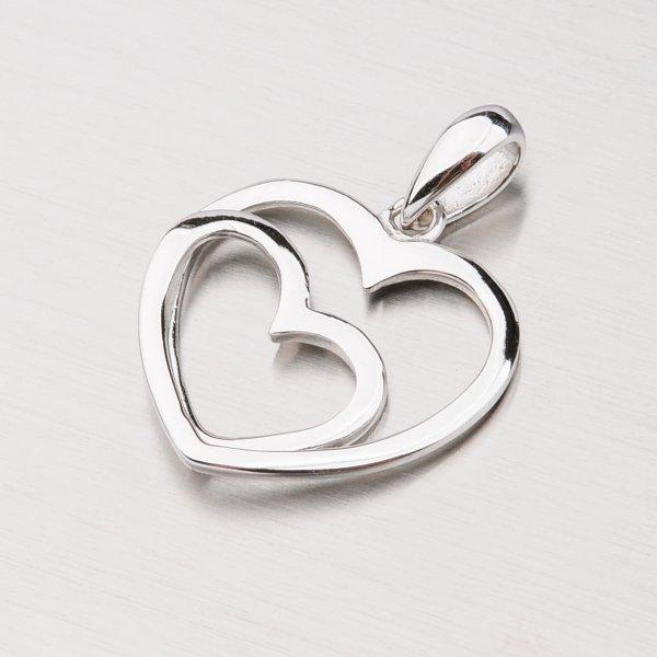 Stříbrné srdce PXX07150192