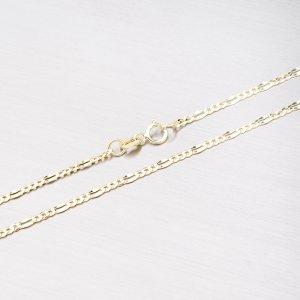 Zlatý řetízek Figaro 3+1 45-1156