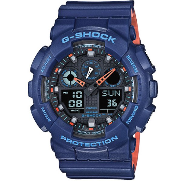 Casio - G-Shock GA 100L-2A 15043143