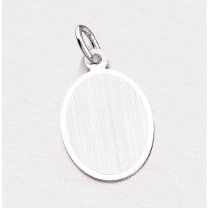 Stříbrný oválný přívěsek CZA-005-TPZG