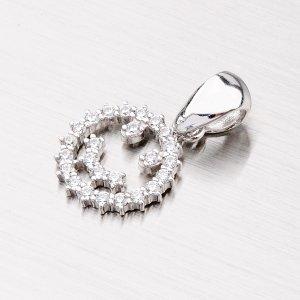 Stříbrný přívěsek - smajlík MPN4998