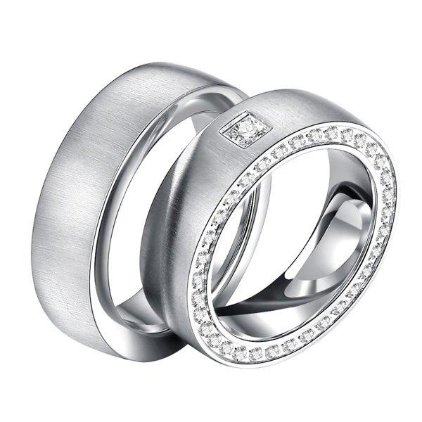 Ocelové snubní prsteny ST-88087 ST-88087