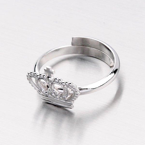 Stříbrný prsten s korunkou R1600949-0532-SLX